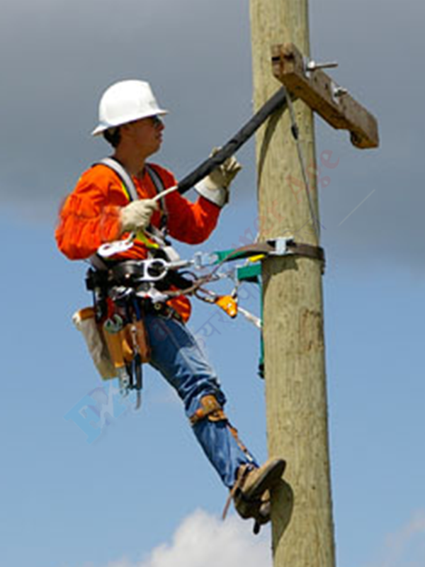 Fair Power Age Electric Pole Lineman Safety Harness Or Belt